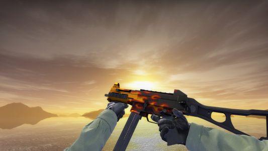 UMP-45 | Пламя (FN)