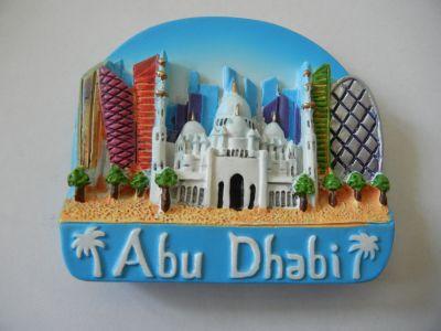 Магнитик с панорамой Абу-Даби