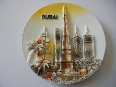 Магнитик панорамы Дубая 7