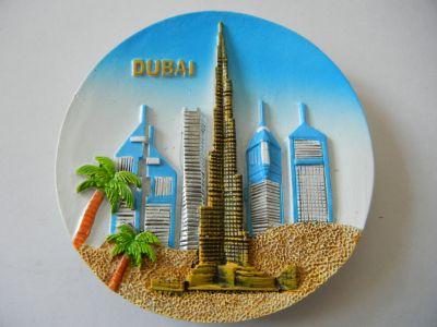 Магнитик панорамы Дубая 6