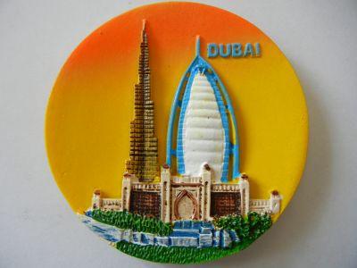 Магнитик панорамы Дубая 5