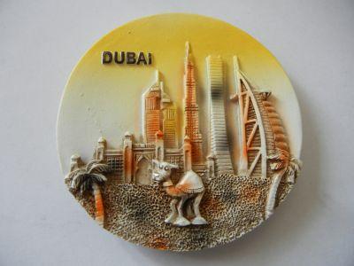 Магнитик панорамы Дубая 2