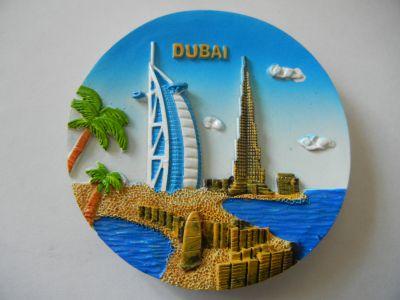 Магнитик панорамы Дубая 1