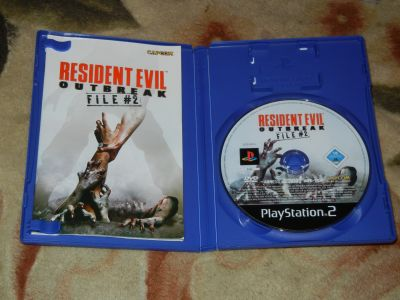 Resident Evil Outbrak File 2 PS2
