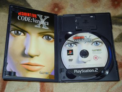 Resident Evil Code: Veronica X PS2