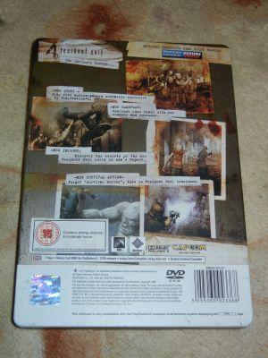 Resident Evil 4 SteelBook. PS2