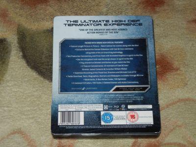 Terminator 2. SkyNet Edition. Blu-Ray. Steel Book