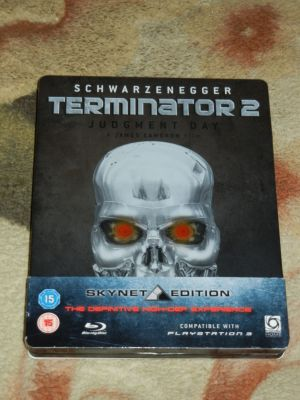 Terminator 2. SkyNet Edition. Blu-Ray. Steel Book