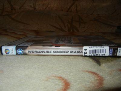 Worldwide Soccer Manager 2009. Корешок