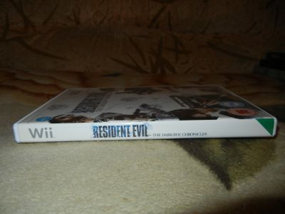 Resident Evil: The Darkside Chronicless. Корешок