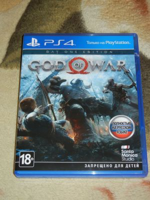 God of War 2018. PS4
