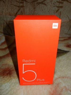 REDMI 5 PLUS 4/64GB BLACK Коробка