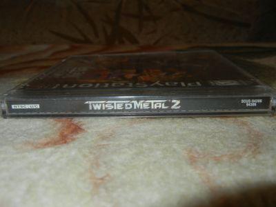 Twisted Metal 2 корешок