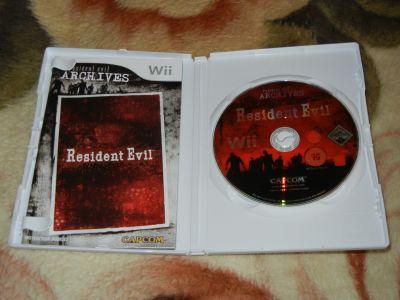 Resident Evil: Archives Wii с мануалом