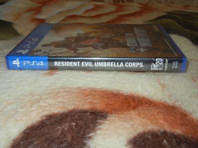 Resident Evil: Umbrella Corps корешок