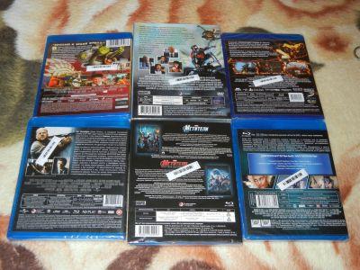 Marvel и другие Blu-Ray фильмы в коллекцию