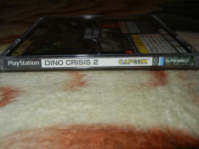 Dino Crisis 2 корешок