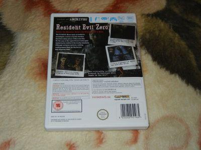 Resident Evil Archves: Zero Wii