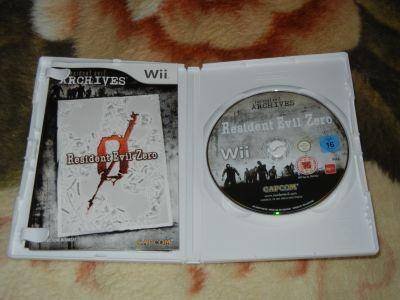 Resident Evil Archves: Zero Wii с мануалом