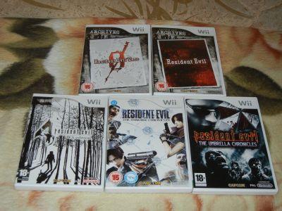 Коллекция Resident Evill на WII