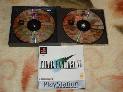 Final Fantasy VII с мануалом