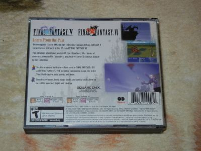 Final Fantasy Anthology (V, VI)