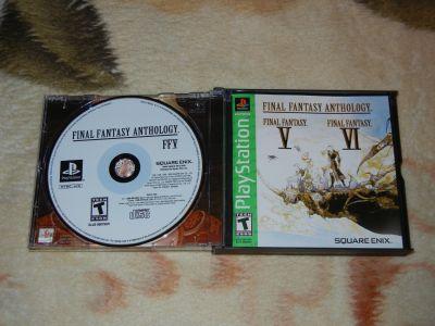 Final Fantasy V-VI (Anthology) с мануалом