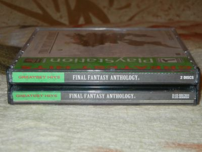 Final Fantasy Anthology (V, VI) корешок