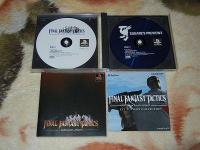 Final Fantasy Tactics с мануалом