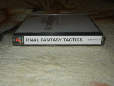 Final Fantasy Tactics корешок