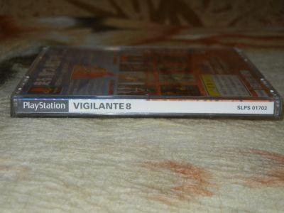 Vigilante 8 корешок