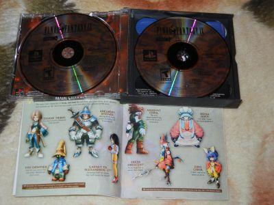 Final Fantasy IX с мануалом