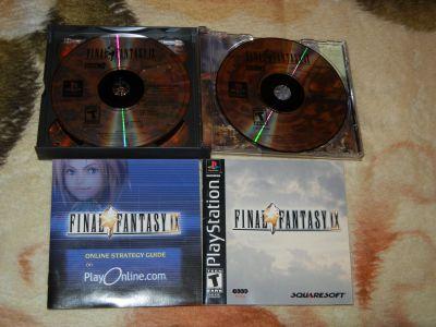 Final Fantasy IX с мануалом и рекламкой