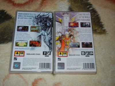 Final Fantasy I-II PSP