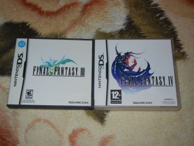 Final Fantasy III-IV DS