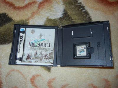 Final Fantasy III с мануалом