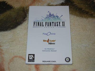 Final Fantasy XI Online мануал
