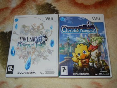 Final Fantasy Chokobo Dungeon & Final Fantasy  Echoes of Time