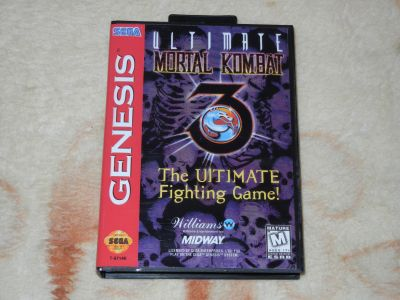 Ultimate Mortal Kombat 3 Genesis