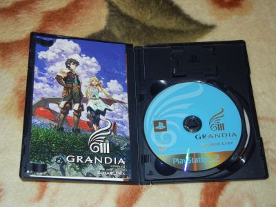 Grandia III с мануалом