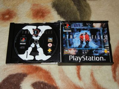 Xfiles PS1 с мануалом
