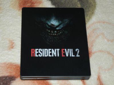 Resident Evil 2 Remastered Steelbook