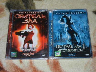 Resident Evil 1-2 DVD Movie