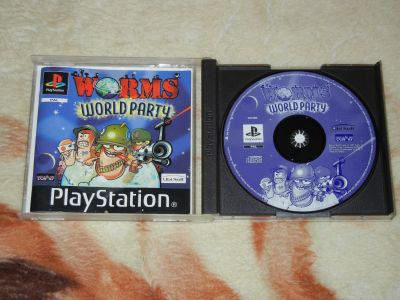 Worms World Party с мануалом