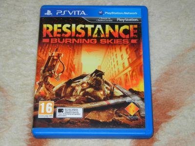 Resistance: Buring Skies