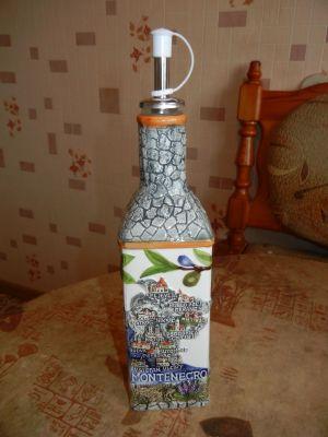 Сувенирная бутылочка Монтенегро