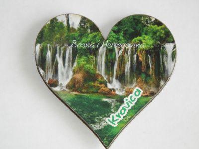 Босния - водопад Кравица