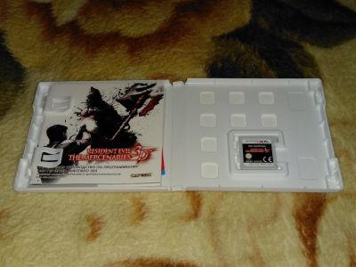 Resident Evil: the Mercenaries 3D с мануалом