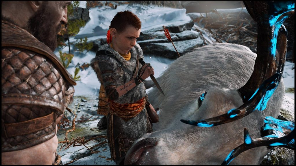Обучение сына охоте